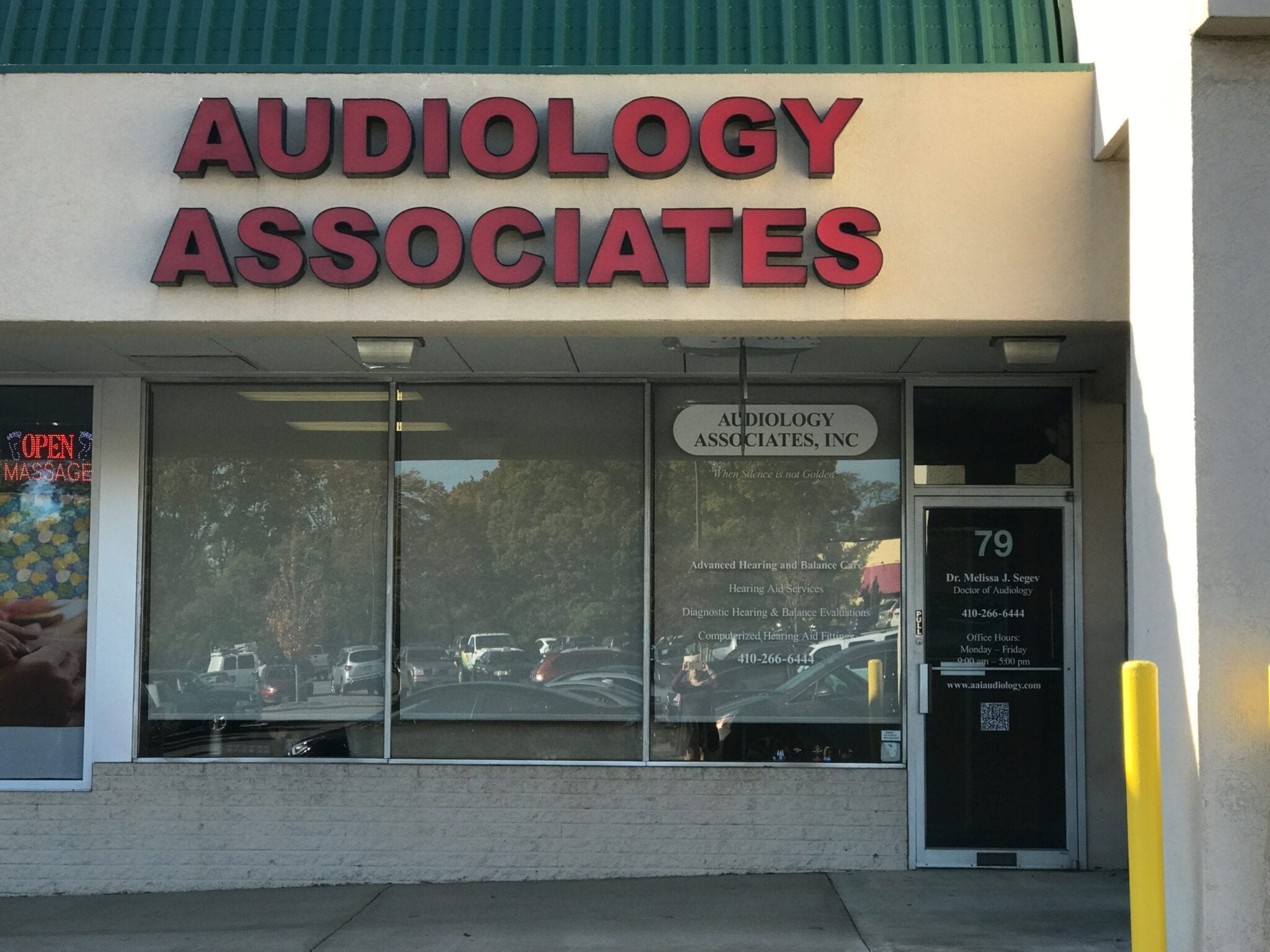 Audiology Associates Annapolis Office