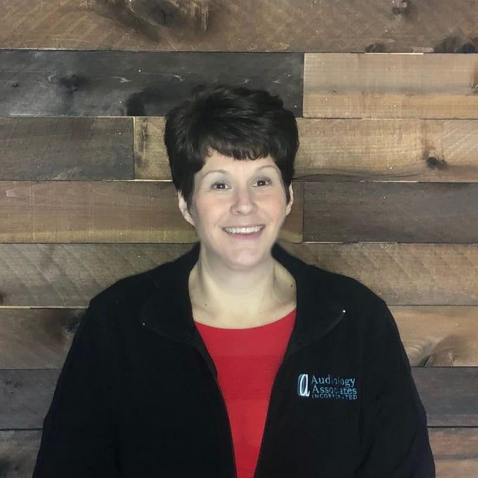 Audiology Associates Practice Manager Maria Fletcher. Parkville Office